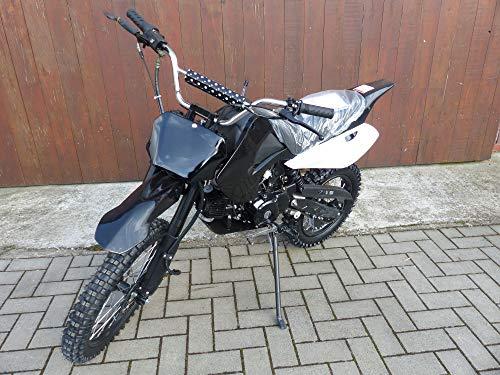 125ccm Dirtbike Cross Pit Bike 4 Takt 17/14 Reifen inkl E-Starter von RV-Racing