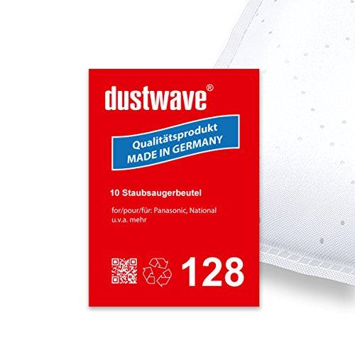 Sparpack - 10 Staubsaugerbeutel geeignet für Panasonic - MC-CG 463 Staubsauger - dustwave® Markenstaubbeutel / Made in Germany + inkl. Microfilter