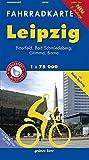 Fahrradkarte Leipzig: Mit Bitterfeld, Bad Schmiedeberg, Grimma. Mit Mulde-Radweg. Mit UTM-Gitter für GPS. Maßstab 1:75.000. Wasser- und reißfest. (Fahrradkarten)
