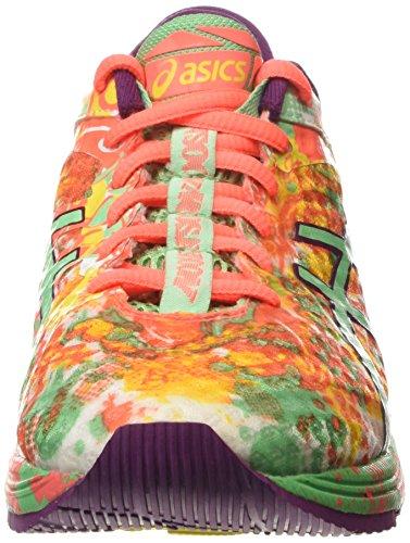 Asics Gel-Noosa Tri 11, Chaussures de Running Compétition Femme Rose (flash coral/spring bud/sun 0687)