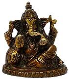 Best Devotionals For Men - SKAVIJ™ Brass Ganesha Idol for Home Hindu Devotional Review