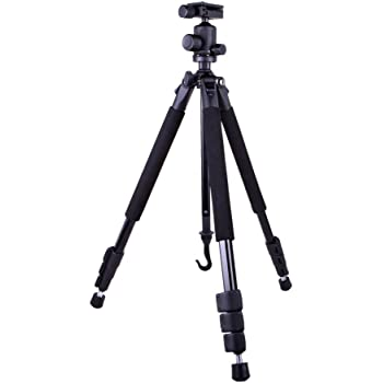 Dolica GX600B200 Proline GX Series Aluminum Tripod and Ball Head Combo for DSLR, 60-inch