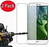 """2 Pack - Acer Liquid Zest Plus Verre Trempé, Vitre Protection Film de Protecteur d'écran Glass Film Tempered Glass Screen Protector pour Acer Liquid Zest Plus (5.5"""")"""