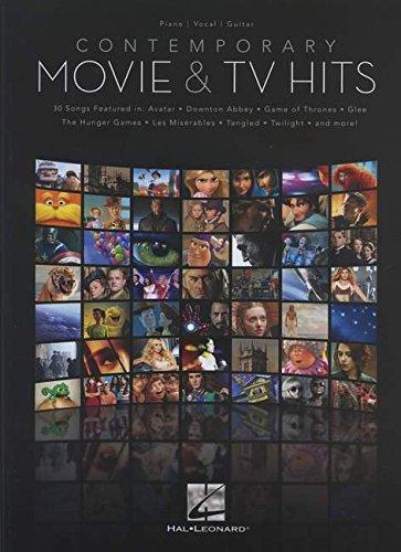 Contemporary Movie & Tv Hits: Piano / Vocal / Guitar por Hal Leonard Publishing Corporation
