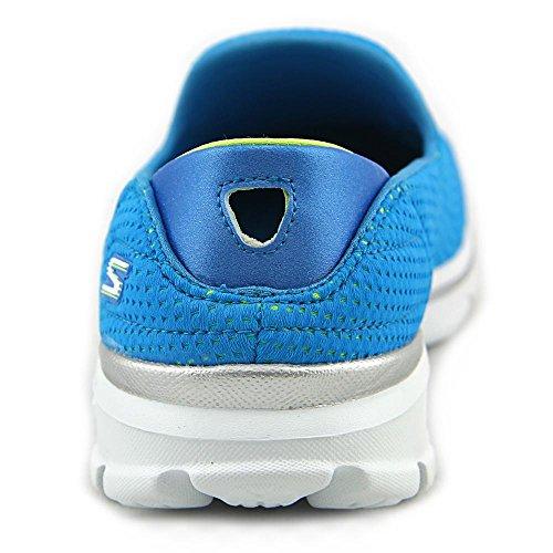 Skechers Damen Go Walk 3Unfold Sneaker Turquoise