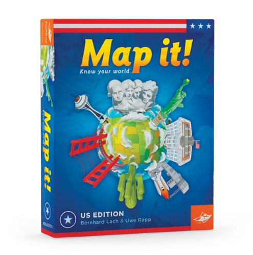 Map It USA Geography Game by FoxMind Games