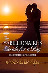 The Billionaire's Bride for a Day (Billionaires of Belmont Book 1) (English Edition)