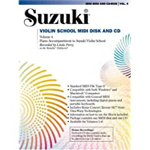 Suzuki Violin School, Vol 4: General MIDI Disk CD-ROM
