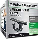 Rameder Komplettsatz, Anhängerkupplung starr + 13pol Elektrik für Mercedes-Benz A-KLASSE (113814-05165-2)
