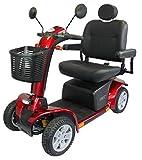 Elektromobil Scooter Life Maxi, 4 Räder, 6 km/h, Elektro-Scooter mit Reichweite bis 60 km, Vollfederung, bis 225 kg, 24 Monate Full Service vor Ort