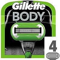 Gillette Body 5 Rasierklingen, 4 Stück