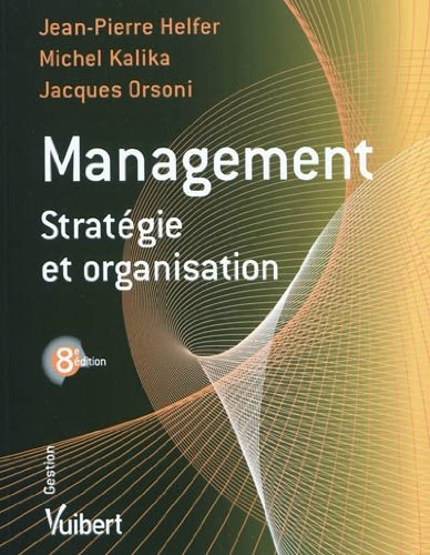 Management : Stratgie et organisation