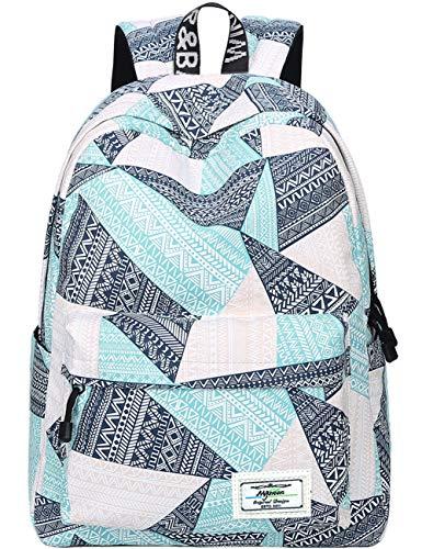 Mädchen Rucksäcke, Mygreen Unisex Kinder Mädchen Rucksack Schultasche Teenager Erwachsene Damen Herren Schulrucksack Freizeit Daypacks Triangle