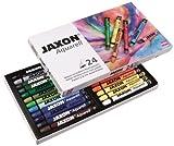 Jaxon 49436 Aquarell Wachspastelle, 24er Set