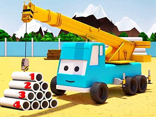 The Excavator - Learning numbers up to ten