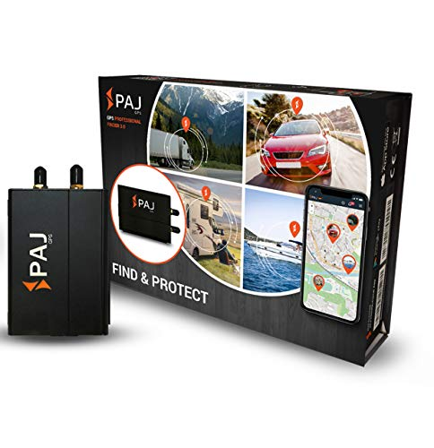 PAJ GPS Professional Finder 3.0 GPS-Tracker als Auto-Diebstahlschutz mit Direktanschluss an KFZ-Batterie Live-Tracking online per App