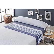 Antilo- juego de sábanas invierno, Microseda, cama de 150. (AZUL)