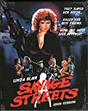 SAVAGE STREETS (Blu-Ray)(Import)(Region B) - Uncut - (Limited Slipcase Edition)