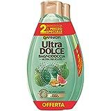 Garnier Ultra Dolce Bagnodoccia Purificante e Idratante Fico e Zucchero di Canna - Confezione da 2 X 500 ml