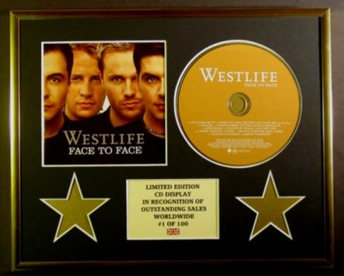 WESTLIFE/CD-Darstellung/Limitierte Edition/COA/FACE TO FACE