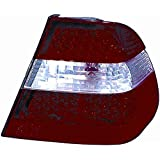 Kit Faro Post. BMW Serie 3 E46 Limousine bianco-rosso a LED solo externo