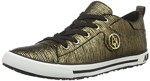 Armani Jeans 9250126a434 Damen Sneakers Gold RUGGINE 00162 -simmeth ... 789043b1e1