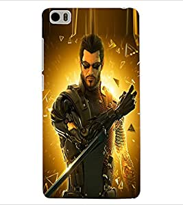 ColourCraft The Warrior Design Back Case Cover for XIAOMI MI 5
