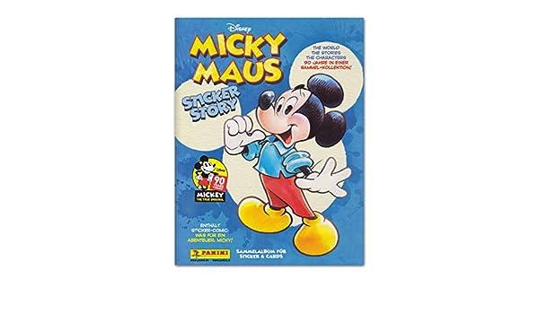 Disney Panini Sticker 7 90 Jahre Micky Maus