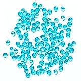 Leisial Deko Diamanten Acryl Kristall Diamanten Transparent Dekosteine für Hochzeit Party Geburtstag and Zeremonie Dekoration,1000 Stück Blau