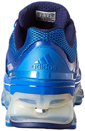 Adidas Springblade Running Shoe, Bleu solaire / argent / noir, 7 nous Blue Beauty / Metallic Silver / Night Blue
