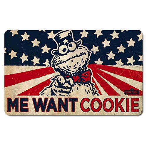 Cookie Monster - Krümelmonster Cookie - Sesamstrasse - Frühstücksbrettchen - Lizenziertes Originaldesign - LOGOSHIRT