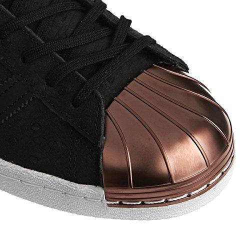 adidas Superstar 80s Metal, Scarpe da Ginnastica Donna BLACK METALLIC