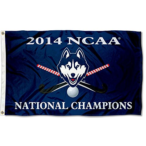College Flags and Banners Co. UConn 2014Field Hockey Champions Flagge Uconn Connecticut University