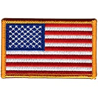 Titan One Europe - Tactical American Flag Airforce Navy Cosplay Bandera Americana Parche Bordado Táctico (Amarillo)