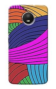 KanvasCases Back Cover For Motorola Moto E4 Plus