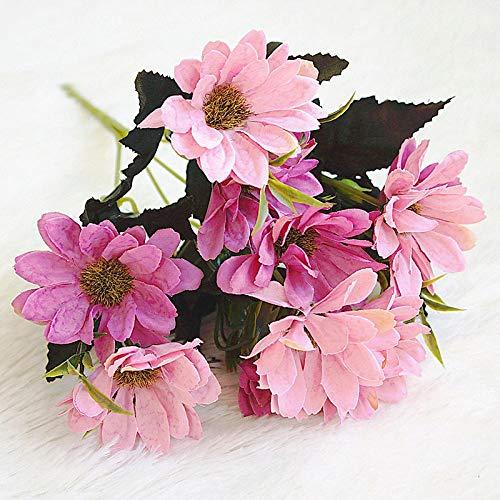 Künstliche Blume 3 Herbst Englisch Persisch Gesang Blume Kunstblume Home Decoration Flower Hochzeitsset Handmade Diy @ White