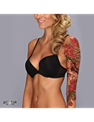 "Tatouage Temporaire ""Cherry Tree Flowers Sleeve"" - ArtWear Tattoo - SLEEVE023 XL"