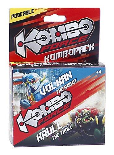 Giochi Preziosi - Coppia Personaggi Mix & Match, Volkan e Krull, Multicolore