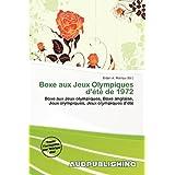 Boxe Aux Jeux Olympiques D' T de 1972