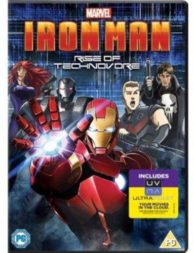 Iron Man: Rise of Technovore [Reino Unido] [DVD]