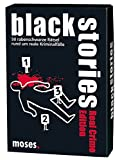 Moses black stories Real Crime Edition, 50 rabenschwarze Rätsel, Das Krimi Kartenspiel