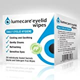 Lumecare eye lid wipes 3 boxes of 20 sachets each