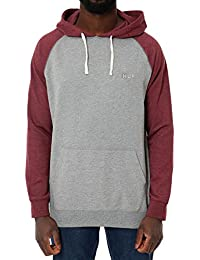 HUF Dalton Pullover Hooded Knit Burgundy/Grey