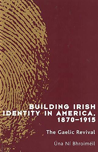 Building Irish Identity in America, 1870-1915: The Gaelic Revival: The American Mission (New Irish History S.)