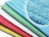 Microfibre Premium Damp Mops (Large, Blue)