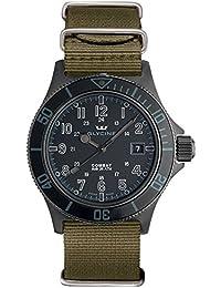 GLYCINE 3863-99AT-TB2 - Reloj , correa de tela
