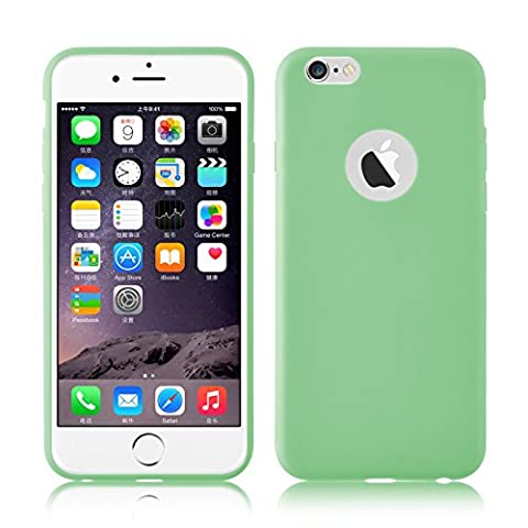 iPhone 6 Plus Case, JAMMYLIZARD Ultra Slim Silicone Jelly Rubber Back Cover for iPhone 6 Plus / 6s Plus 5.5