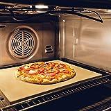 GARCON Pizzastein für Backofen und Gasgrill (Pizzastein)