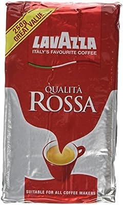 Lavazza Qualita Rossa Ground Coffee, 250g from Lavazza Coffee