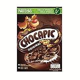 Cereales Nestlé Chocapic Cereales de trigo y maíz tostados con chocolate - Paquete de cereales de 375 gr